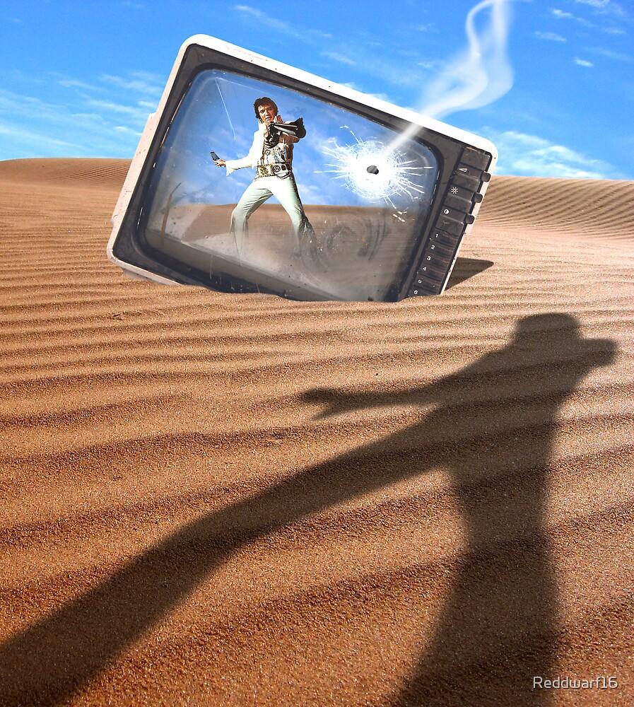 Elvis Has Shot the Tele! by Reddwarf16