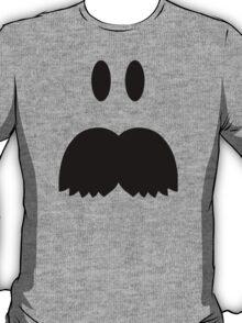 Smiley Mustache face T-Shirt
