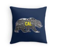 Cal Berkeley Throw Pillow