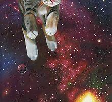 Space Kitty by Susan Van Sant