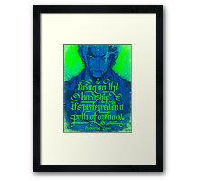 One Piece - Zoro Framed Print