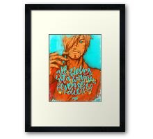 One Piece - Sanji Framed Print