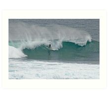 The Surfer, Margaret River, Western Australia Art Print