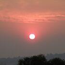 Smokey Sunset by Arthur Richardson