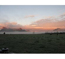 Morning in the Valley Photographic Print