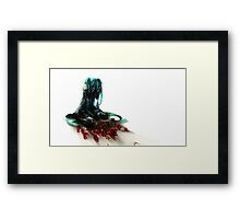 Hatsune Miku - Cry and Roses Framed Print
