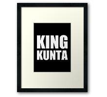 King Kunta - Kendrick Lamar Framed Print