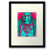 One Piece - Franky Framed Print