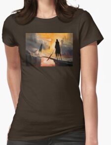 Lava Wraiths Womens Fitted T-Shirt