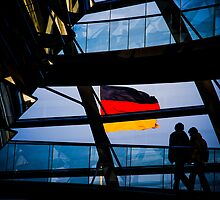 The Reichstag, Berlin, Germany by Daniel Webb