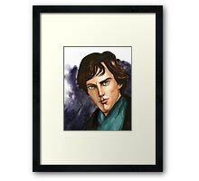 The Detective Framed Print
