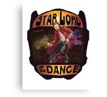 Star Lord of the Dance Canvas Print