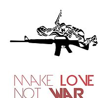 Make Love Not War M16 by AnastasiaNensy
