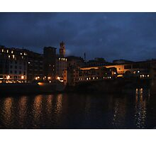 Florence - Ponte Vecchio Photographic Print