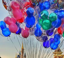 Balloons on Main Street by dlr-wdw