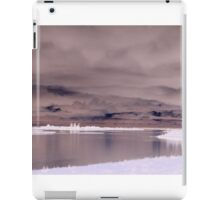 Cloudy Lake Inverted iPad Case/Skin