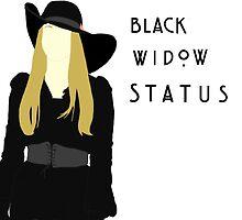 Black Widow Status by selfishkiss