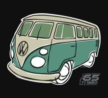 VW Type 2 bus green T-Shirt