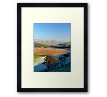 Mount Caburn from the Telscombe Road Framed Print