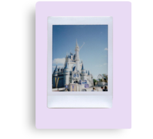 The Cinderella Castle Canvas Print
