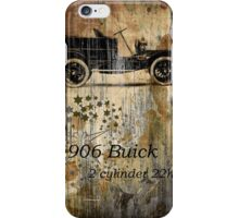 1906 Buick Textures iPhone Case/Skin