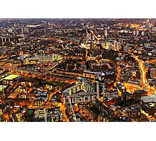City Lights, London, United Kingdom Photographic Print