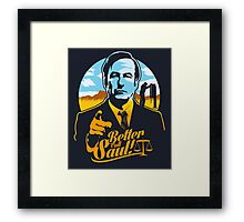 Better Call Saul Framed Print