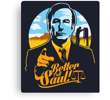 Better Call Saul Canvas Print