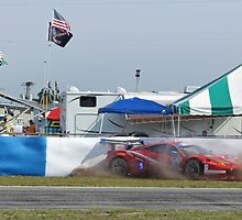 ferrari spin out by cliffordc1