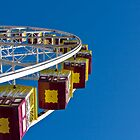 Ferris wheel. Rye foreshore carnival. by RyePixels