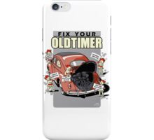 Fix your Oldtimer 1 iPhone Case/Skin