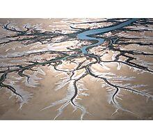 tidal patterns Photographic Print