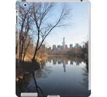 The Lake, Central Park iPad Case/Skin