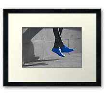 Don't Step on my... Framed Print