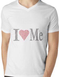 I LOVE ME  Mens V-Neck T-Shirt