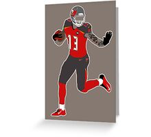 Mike Evans Greeting Card