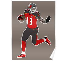 Mike Evans Poster