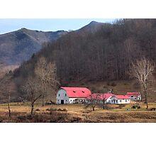Red, White, and Blue Ridge Photographic Print