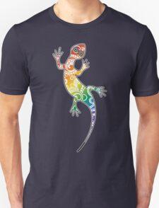 Paisley Lizard Unisex T-Shirt