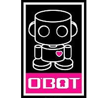 O'bots Spread Love 3.0 Photographic Print