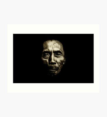 Silent In The Dark!!! Art Print