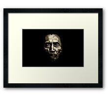 Silent In The Dark!!! Framed Print