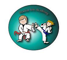 Martial Arts Academy Photographic Print