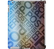 The Poster Poster Poster iPad Case/Skin