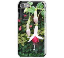 Rain on the Flowers iPhone Case/Skin