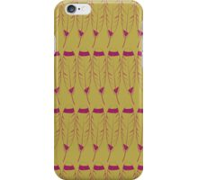 Feather- Purple and Gold iPhone Case/Skin