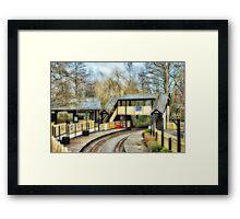 Station Framed Print