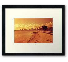 Red Tide Framed Print