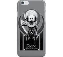 Diana, Scorn of the Moon iPhone Case/Skin