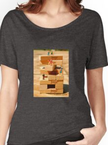 Mount Jenga Women's Relaxed Fit T-Shirt